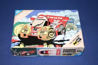 """Mitsuwa Porsche 956 & 962 """"Egg"""" Model Kits, Lot of 7"""